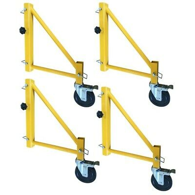 PRO-SERIES 16 in. Outriggers for Scaffolding with Casters (4-Pack)