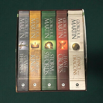 A Game of Thrones 5-Book Boxed Set by George R. R. Martin's - PreOwned