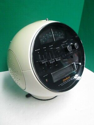 1970-71 WELTRON 2001 AM/FM Radio 8 Track Player - Serviced and New Belt !