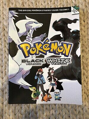 Pokemon Black & White Version The Official Strategy Guide Volume 1 Nintendo DS
