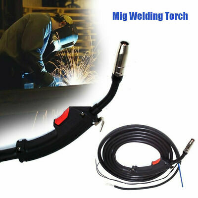 Electric Replacement Mig Torch Welder 14AK Complete Welding Gun Parts 3M Black