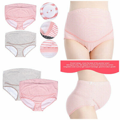 Pregnant Women Panties Briefs Maternity Underpant Belly Support Underwear L-3XL