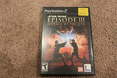 Star Wars: Episode III: Revenge of the Sith (PlayStation 2) -- Tested Working