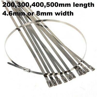 cd928a0d0d37 Quality Stainless Steel Cable Ties – Marine Grade Metal Zip Tie Wraps –  Exhaust