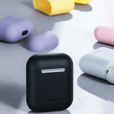 Ultra Thin Silicone Case Cover Baseus for Apple AirPods 1 2 360° Protection