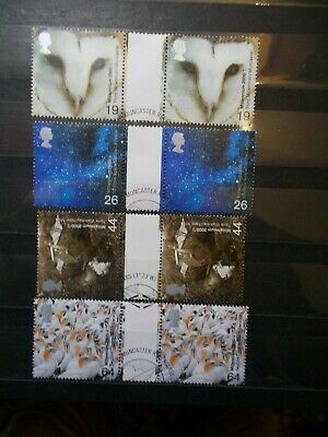 2 x GB 2000  Commemorative Stamps~Art & Craft~5th ~Very Fine Used Set~UK Seller