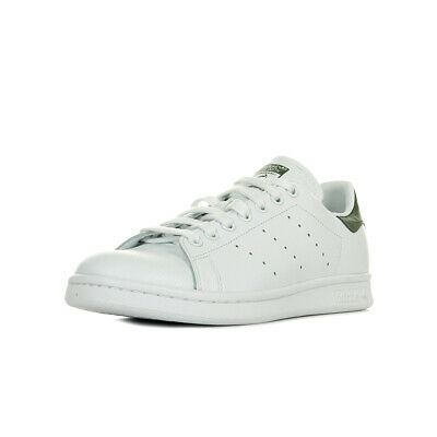 90aa7d2badc3 Chaussures Baskets adidas unisexe Stan Smith taille Blanc Blanche Cuir  Lacets