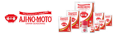 AJINOMOTO AJI-NO-MOTO Monosodium Glutamate UMAMI food seasoning ingredient