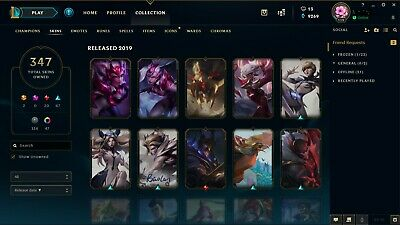 League Of Legends Account All Champs 202 Skins Championship Riven