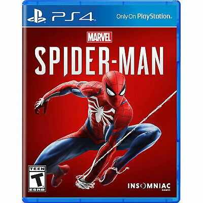 Marvel Spider-Man (Sony Playstation 4 PS4) Brand New Factory Sealed