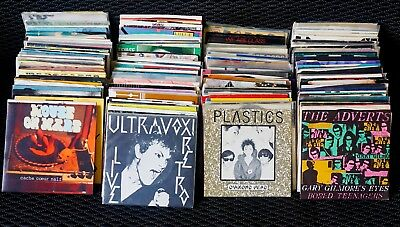 "7"" 45 SALE  Punk, R&R, Alternative  70s-90s.  Great Shape!  PICK ANY 5 FOR $20"