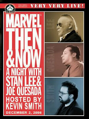 Live - Marvel: Then & Now (DVD) A Night With Stan Lee, Joe Ques  - Disc Only
