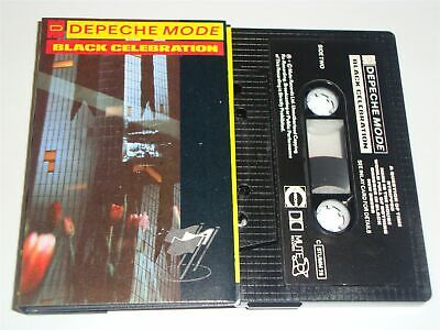 Depeche Mode - Black Celebration STUMM26 Cassette Tape