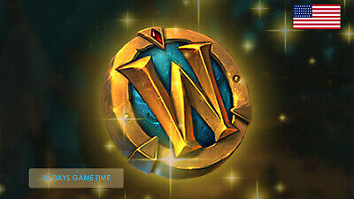 World of Warcraft  30 days Game Time One Month US Americas Servers