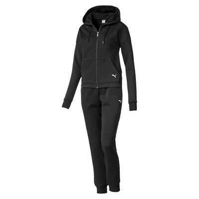 Puma Ladies Classic Hd. Sweat Suit CL/Tracksuit Drycell 580492 Black