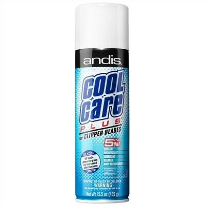 Cl-12750 Barber Beauty Salon Andis Cool Care Plus 5-In-1 Disinfectant 15.5 Oz
