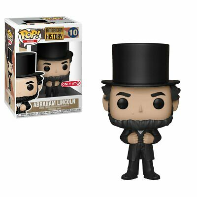 Funko Pop! Icons American History Abraham Lincoln Vinyl Figure Target Exclusive