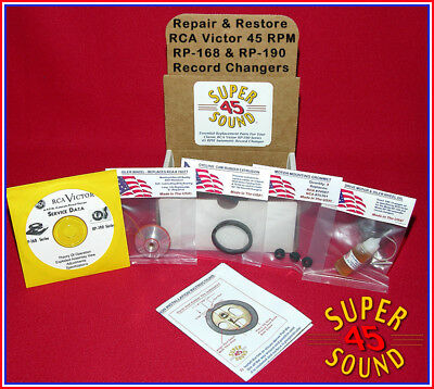 RCA Victor 45-EY-2 Record Player Phonograph Repair Kit