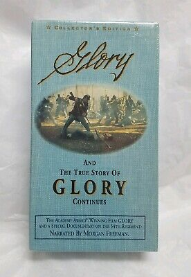 Glory and the true story of Glory continues Collectors Edition New Sealed VHS
