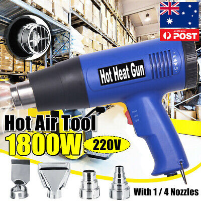 220V 1800W Electric Hot Air Gun Adjustable Temperature Speed Hot Heat Gun