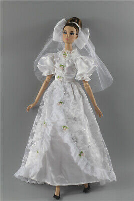 Fashion Royalty Princess Dress/Clothes/Gown+veil For 11.5 in. Doll c48