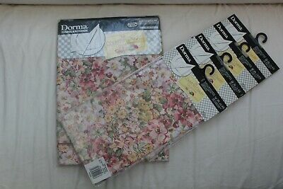 "Vintage Dorma ""The Country Diary Collection"" Tablecloth and 8 Napkins"