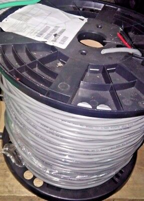 Grey Commercial 16 AWG 2 conductor cable Reel OF 1000'