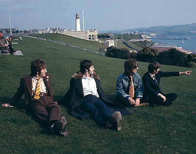"""The Beatles Magical Mystery Tour Plymouth Hoe Photo Print  8 x 10"""""""