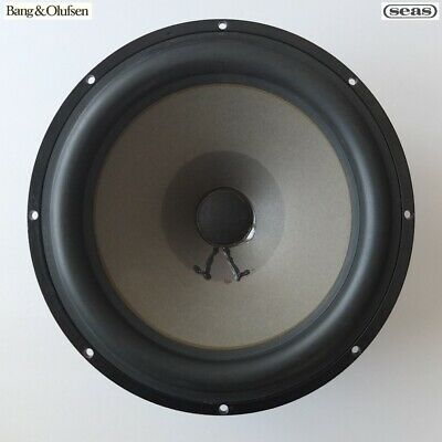 """vintage SEAS 10"""" bass driver woofer removed from 1975 Bang & Olufsen S60—perfect"""