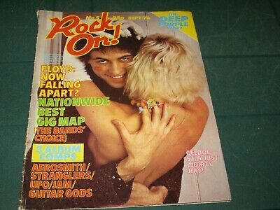 Rock On Music Magazine Issue No.5 September 1978 Collectible V.rare!
