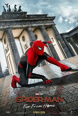 Spider-man: Far From Home | original DS movie poster 27x40 INTL | Tom Holland G