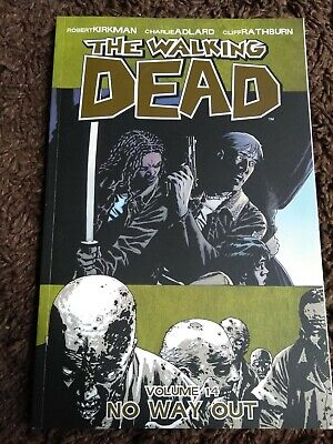 The Walking Dead Volume # 14. No Way Out. Graphic novel series. Zombies