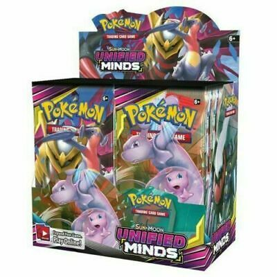 Pokemon Tcg Sun & Moon Unified Minds Booster Sealed Box - Pre-Order!