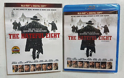 The Hateful Eight (Blu-ray) (Bilingual) slipcover included