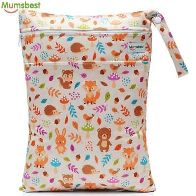 New Wet Bag Washable Reusable Cloth diaper Travel Carry bag Big Size: