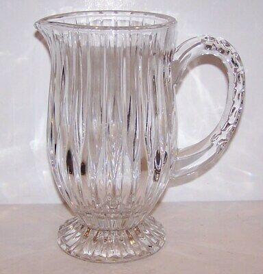Stunning Mikasa Crystal Park Lane Footed Pitcher