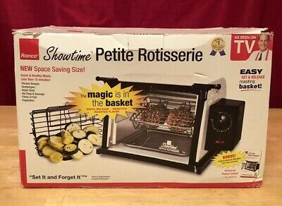 Ronco Showtime Petite Rotisserie New In Box