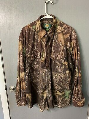 8a6deb88ca3cf Vtg 90s New Mens Large Mossy Oak Full Zip Soft Cloth Quiet Hunting Bomber  Jacket. $69.25 Buy It Now or Best Offer 1d 12h. See Details. Cabelas Vintage  Men's ...