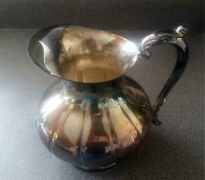 Vintage Sheffield Silver Company Pitcher S-8507...nice uncleaned patina