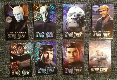 Dave and Busters Star Trek - (Summer 2019 Aliens Set) (Holo-Foil) Cards