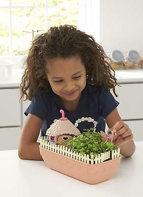 My Fairy Kitchen Garden Grow Your Own Miniature Edible Garden Kit Kids Toy New