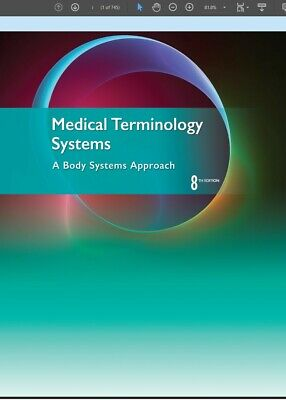 P.D.F Medical Terminology Systems: A Body Systems Approach 8th Instant Delivery