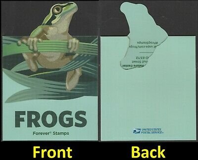 US 5395-5398 Frogs First Day of Issue Ceremony Invitation 2019
