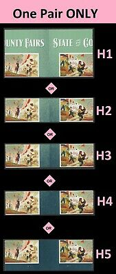 US 5401-5404 5404a State and County Fairs forever vert gutter strip set MNH 2019