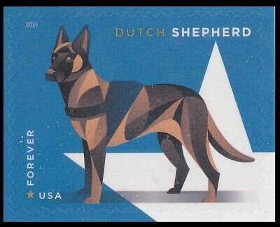 US 5408 Military Working Dogs Dutch Shepherd forever single MNH 2019