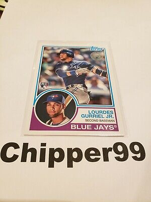Lourdes Gurriel Jr 1983 RC 2018 Topps Update Insert Card #83-17 Blue Jays ROOKIE