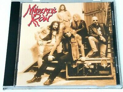 MURDERER'S ROW - self-titled (1996 CD A2Z Records 85012) Bob Kulick, Jimmy Waldo