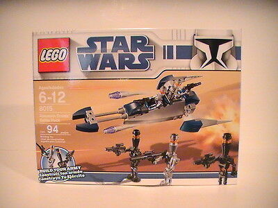 Assassin Droid with blaster *NEW* from retired set 8015 LEGO Star Wars