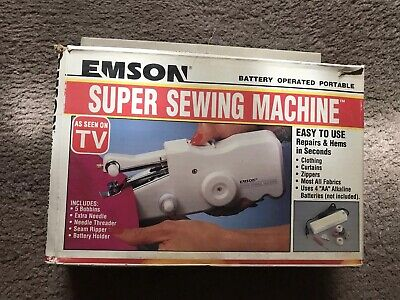 Emson Super Battery Operated Portable Sewing Machine