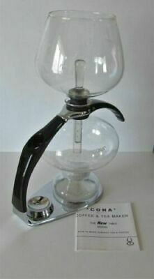 Cona Coffee Maker Dtm 1.1 Litre Vintage Brand New Perfect With Unused Lamp